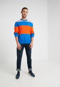 BOSS - DELWARE - Jeans slim fit - dark blue - 1