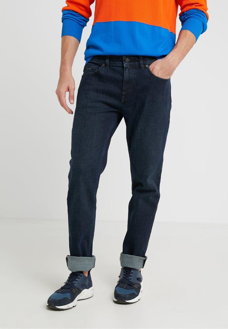 BOSS - DELWARE - Jeans slim fit - dark blue