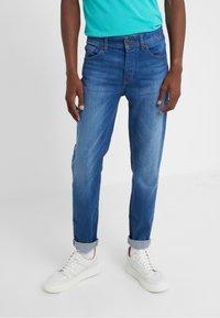 BOSS - TABER - Zúžené džíny - blue denim - 0