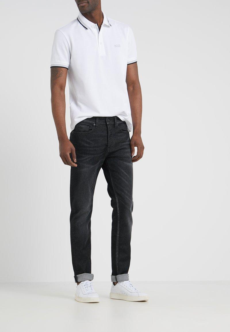 BOSS - TABER - Jean slim - dark grey
