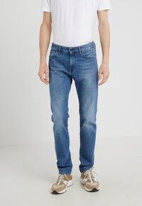 BOSS - MAINE - Straight leg jeans - bright blue - 0