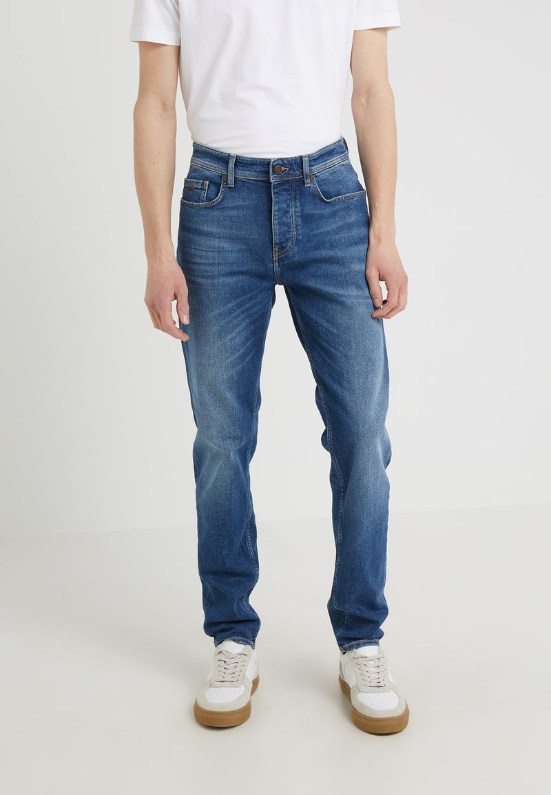BOSS - TABER - Slim fit jeans - medium blue
