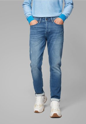 TABER BC-P - Jeans Tapered Fit - blue denim