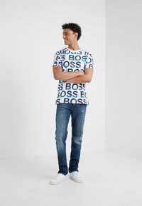 BOSS - DELAWARE - Jeans slim fit - blue denim - 1