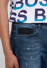 BOSS - DELAWARE - Jeans slim fit - blue denim - 3