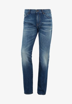 MAINE BC-L - Straight leg -farkut - blue denim