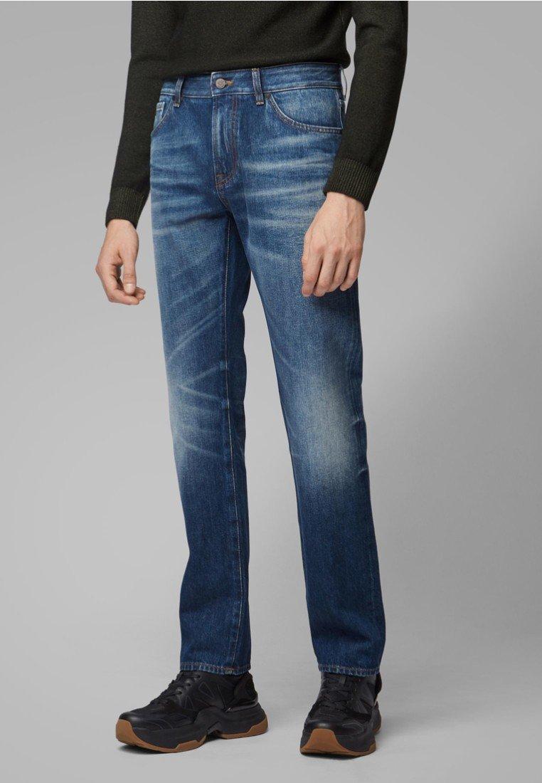 BOSS - MAINE BC-L - Džíny Straight Fit - blue denim