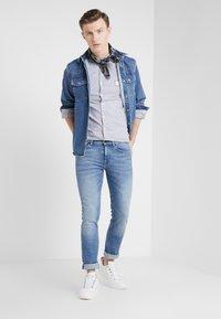 BOSS - DELAWARE  - Slim fit jeans - light blue denim - 1