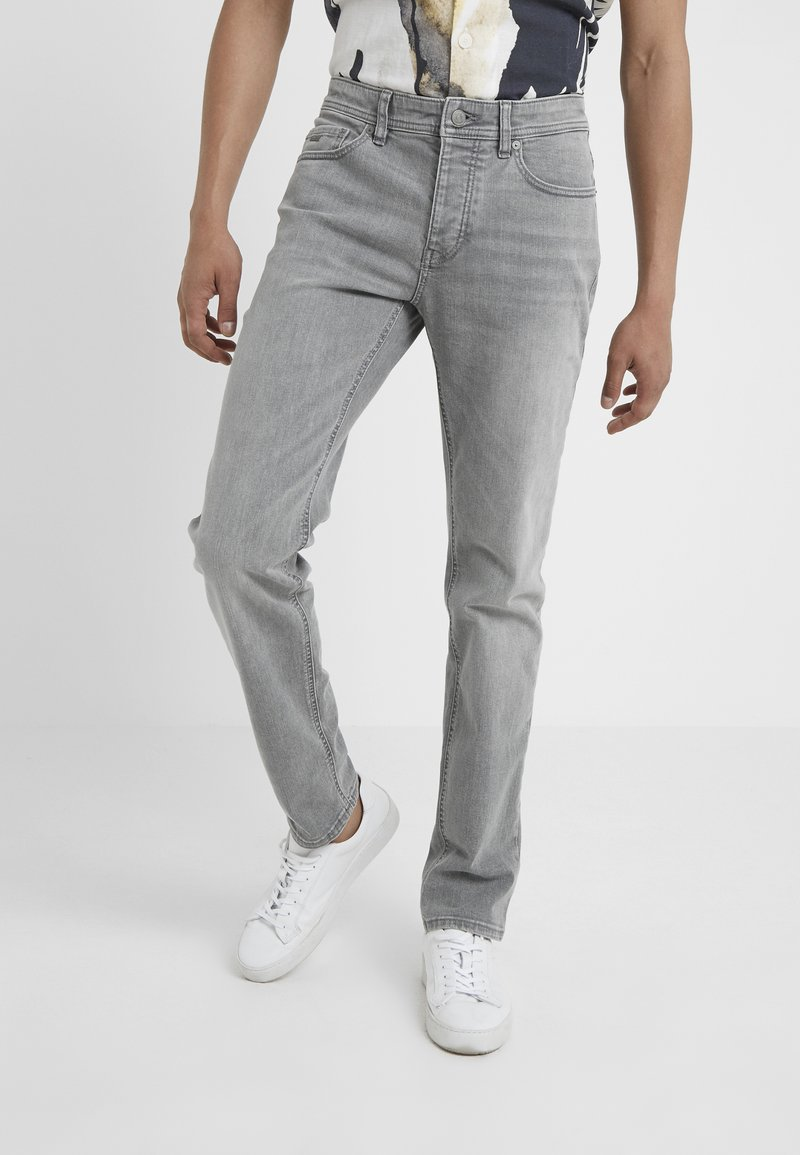 BOSS - TABER - Jeans Tapered Fit - grey denim