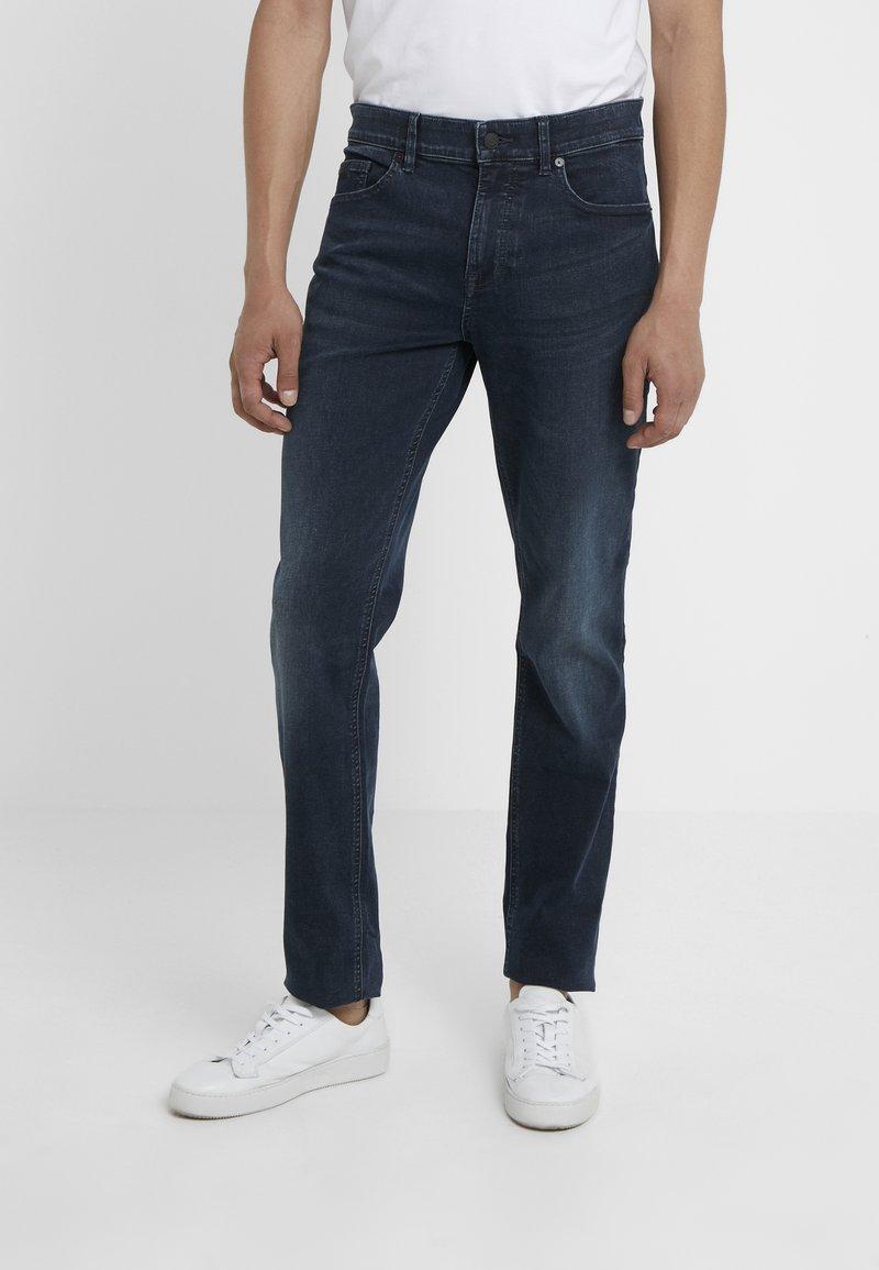 BOSS - DELAWARE - Jeans slim fit - dark blue denim
