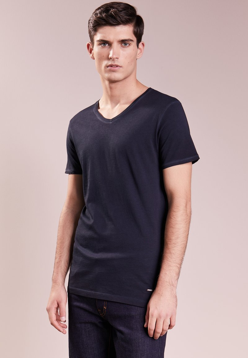 BOSS - TRACE - T-shirt basique - dark blue