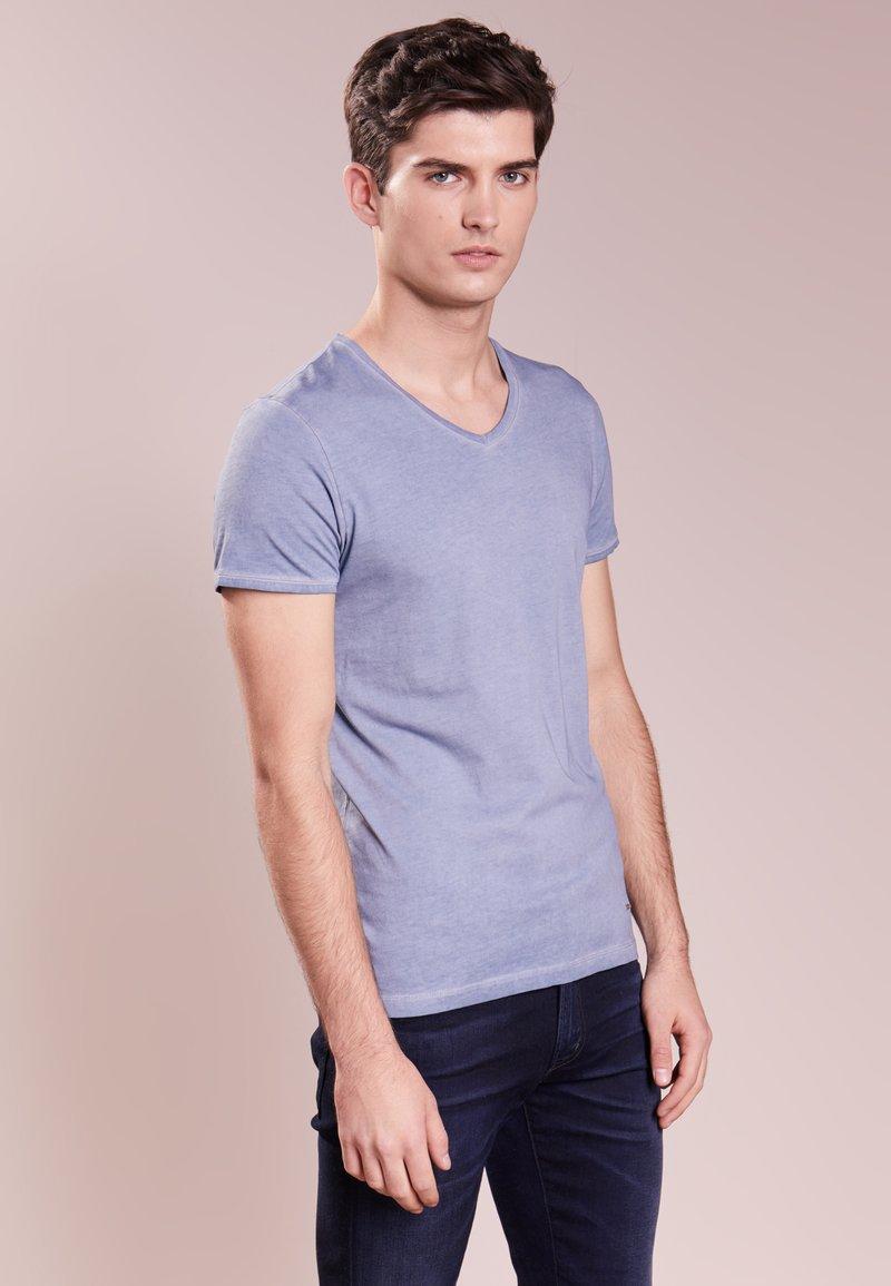 BOSS - TRACE - T-shirt basique - open blue