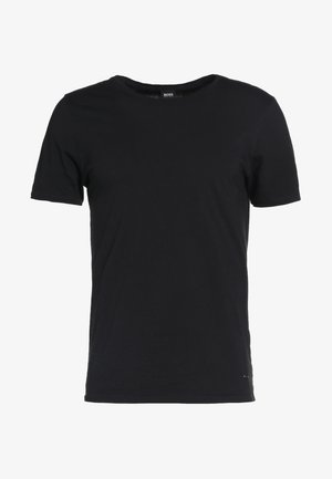 TROY - T-shirt basic - black