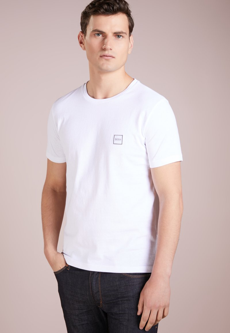 BOSS - TALES - Basic T-shirt - white