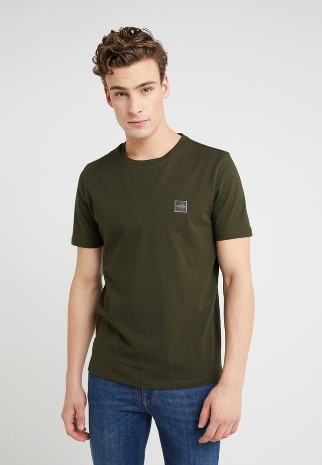 TALES - T-shirts basic - open green