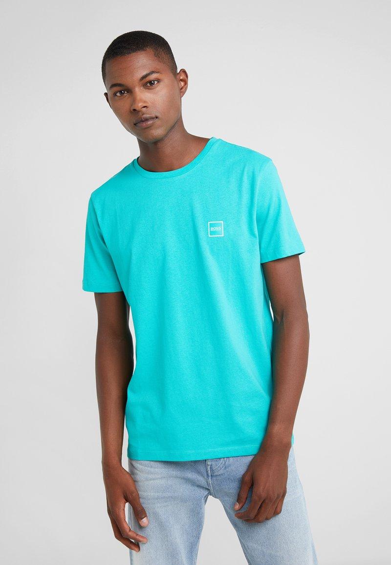 BOSS - TALES - T-shirts basic - turquoise