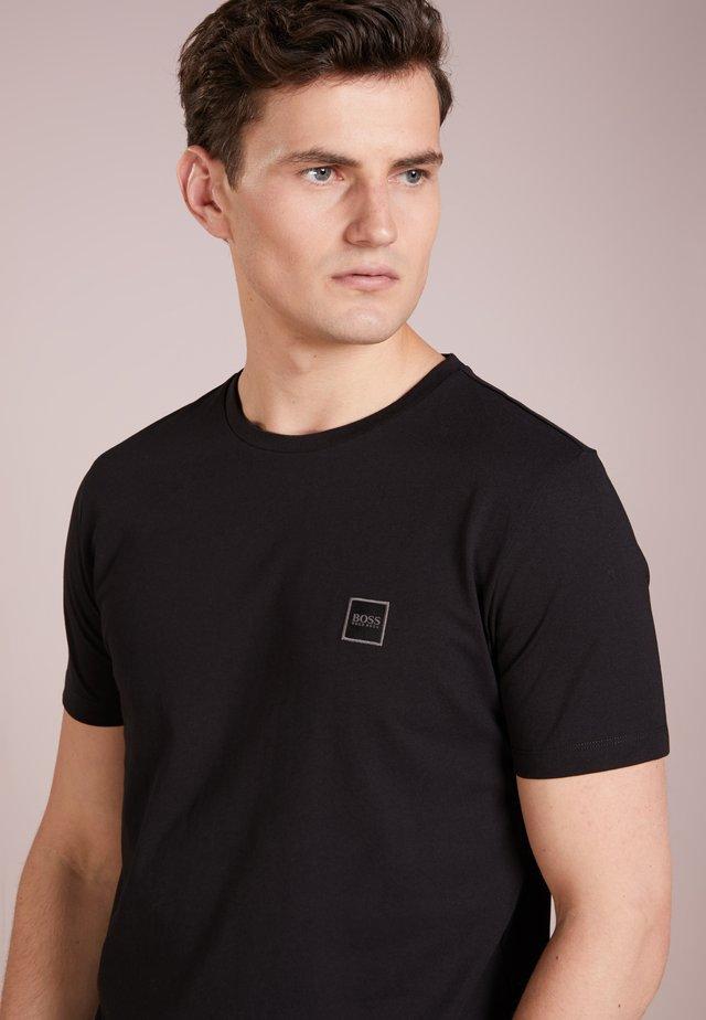 TALES - Basic T-shirt - black