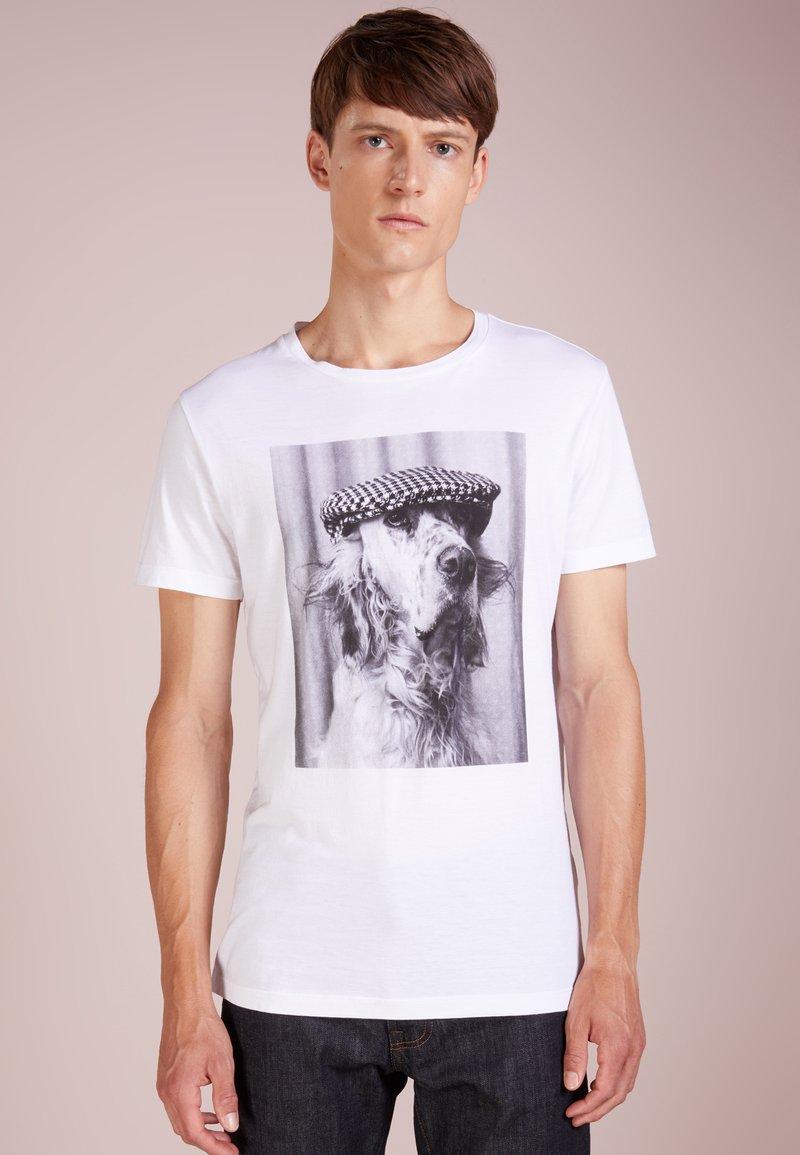 BOSS - TEEDOG - T-Shirt print - white