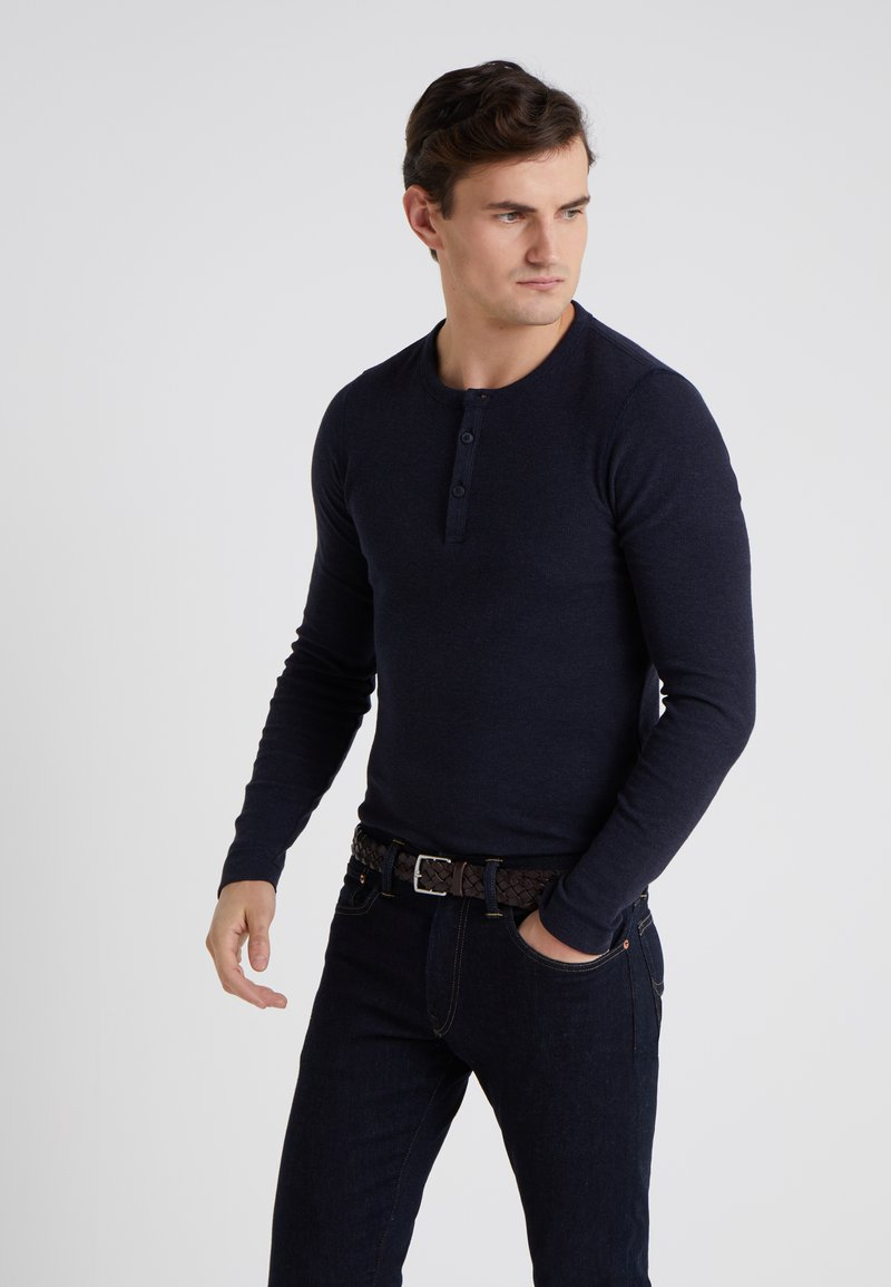 BOSS - TRIX - Langarmshirt - dark blue