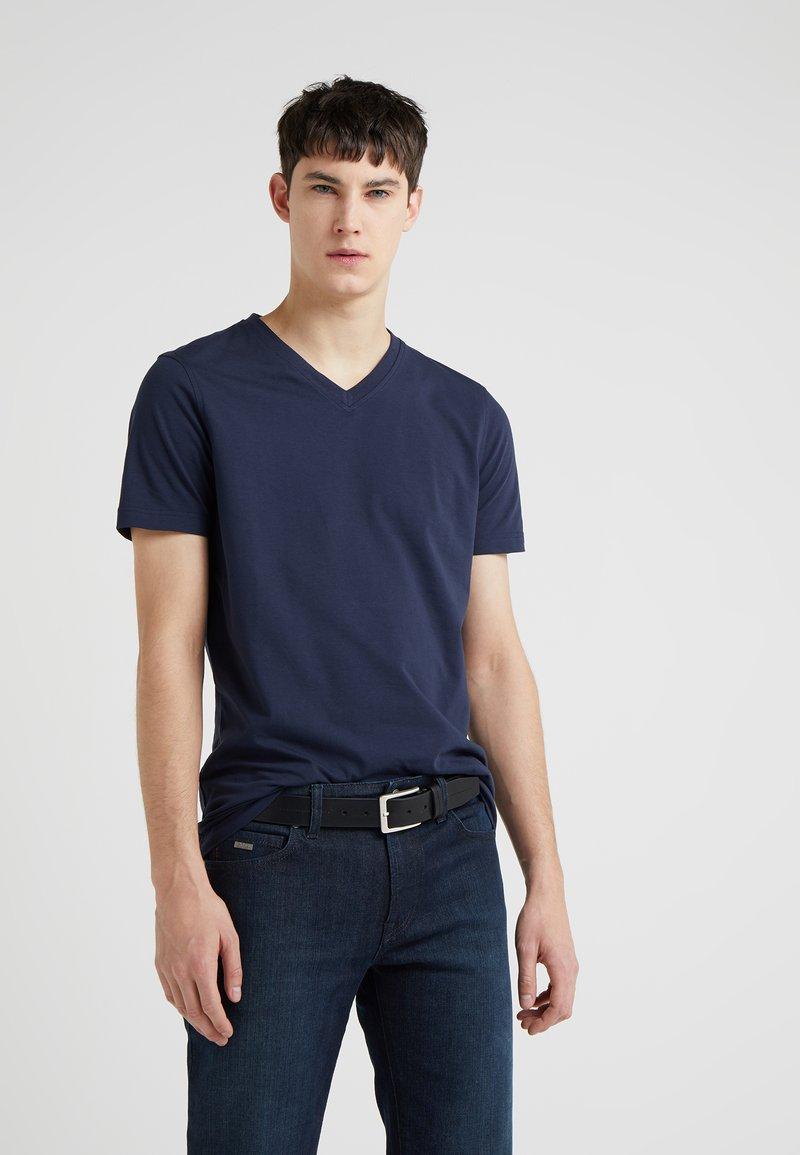 BOSS - TCHAP - T-Shirt basic - dark blue