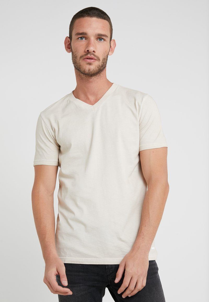 BOSS - TYXX - T-Shirt basic - light beige