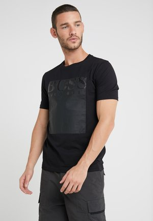 TAUCH - Print T-shirt - black