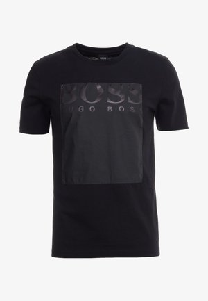 TAUCH - T-shirt con stampa - black