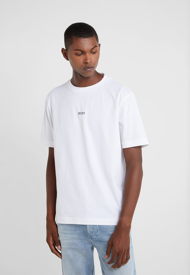TCHUP - Print T-shirt - white