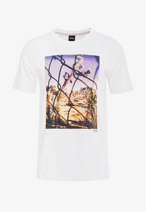 TEEAR  - T-shirt imprimé - white