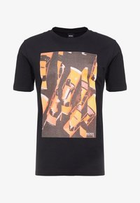 BOSS - TREK 1 - T-shirt med print - black - 4