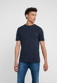 BOSS - TRUST - Basic T-shirt - navy - 0