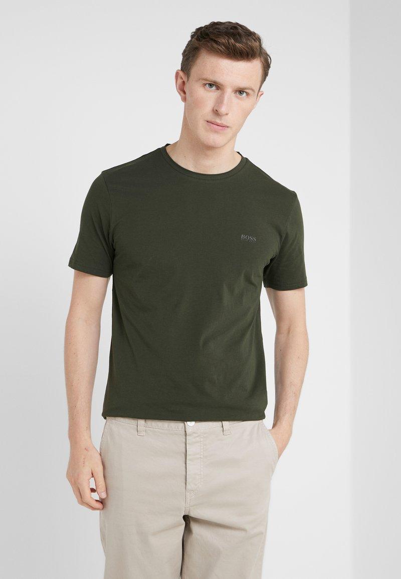 BOSS - TRUST - Camiseta básica - oliv