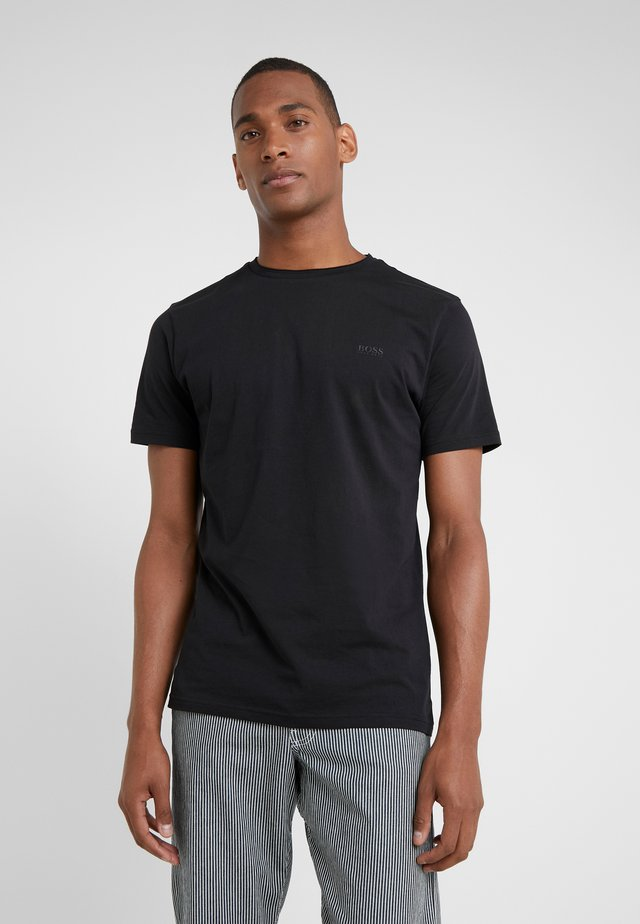 TRUST - Basic T-shirt - black