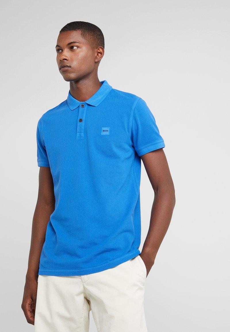 BOSS - PRIME SLIM FIT - Poloshirt - medium blue