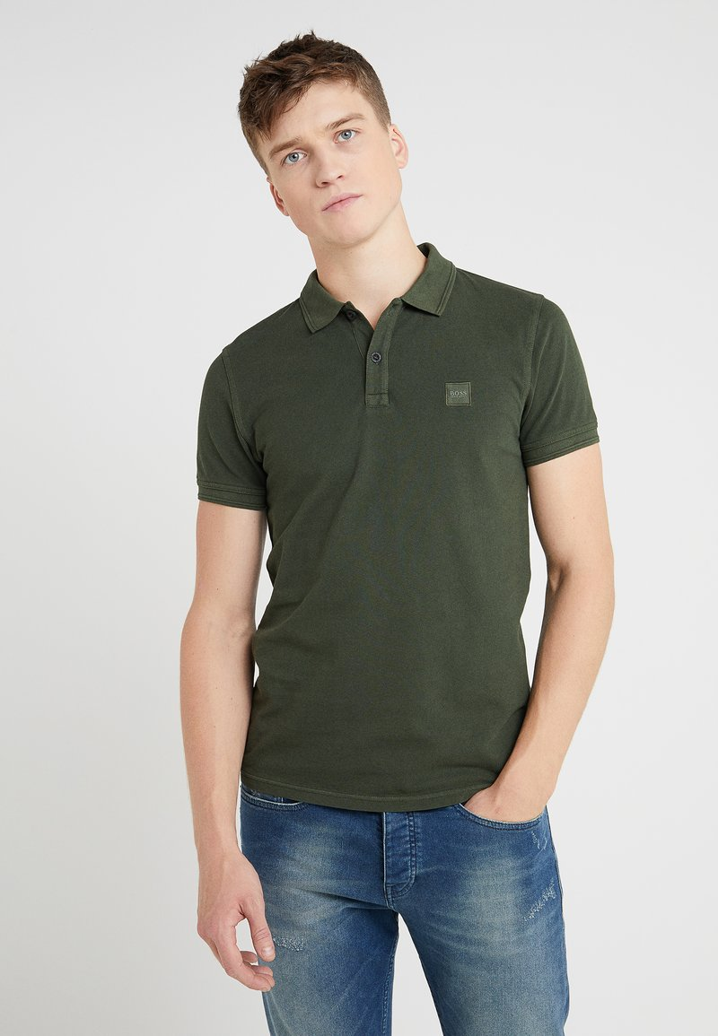 BOSS - PRIME SLIM FIT - Polo - open green