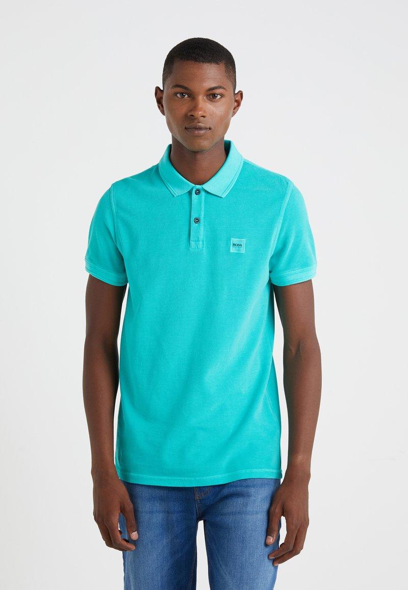 BOSS - PRIME SLIM FIT - Koszulka polo - dark green