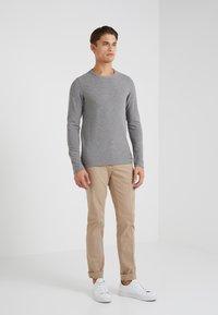BOSS CASUAL - TEMPEST - Långärmad tröja - grey melange - 1