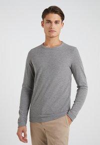 BOSS CASUAL - TEMPEST - Långärmad tröja - grey melange - 0