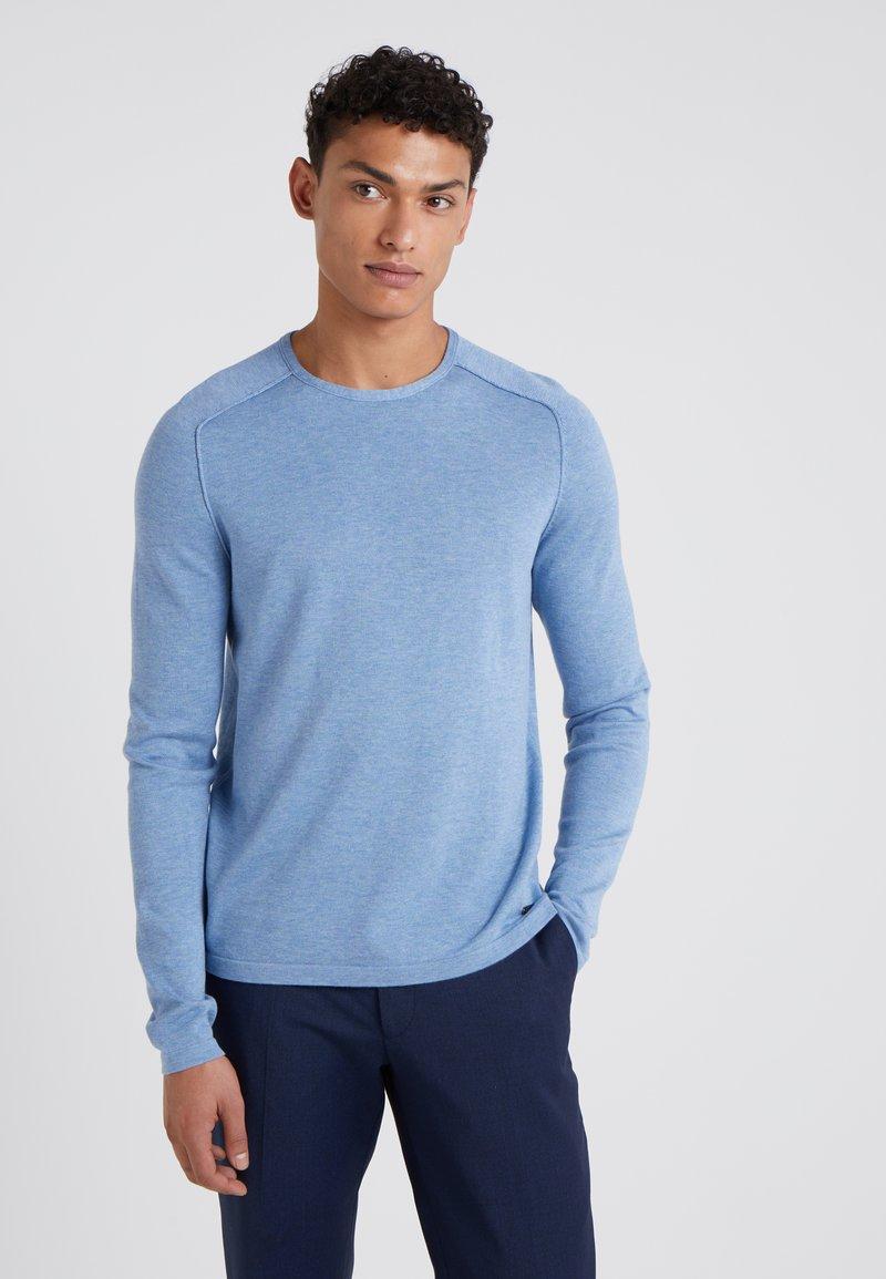 BOSS - AMIROY - Jumper - light pastel blue