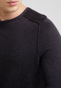 BOSS - AMIROY - Pullover - dark grey - 4