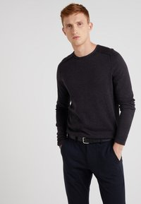 BOSS - AMIROY - Pullover - dark grey - 0