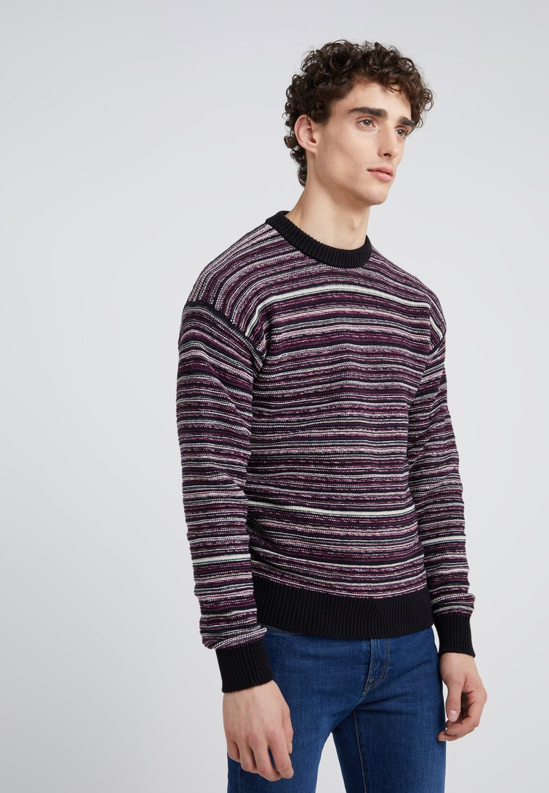 BOSS - KASTELI - Strickpullover - black