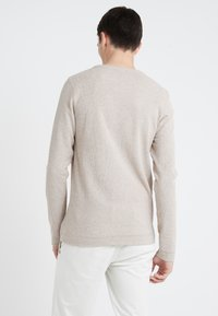 BOSS - TEMPEST - Stickad tröja - medium beige - 2