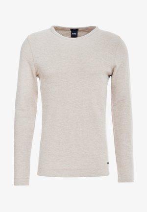TEMPEST - Stickad tröja - medium beige