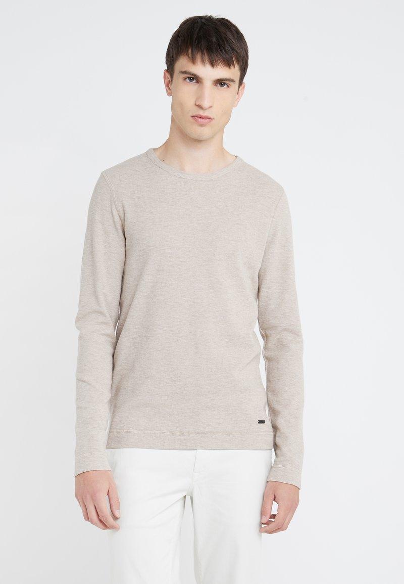 BOSS - TEMPEST - Stickad tröja - medium beige