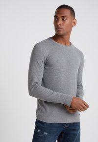 BOSS - TEMPEST - Strikpullover /Striktrøjer - light pastel grey - 0