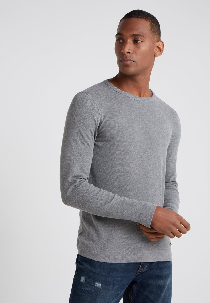 BOSS - TEMPEST - Strikpullover /Striktrøjer - light pastel grey