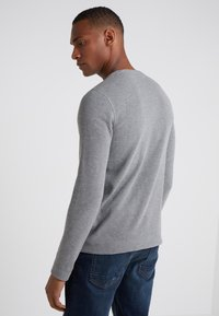 BOSS - TEMPEST - Strikpullover /Striktrøjer - light pastel grey - 2
