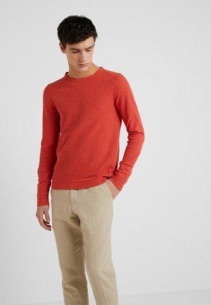 TEMPEST - Pullover - dark orange