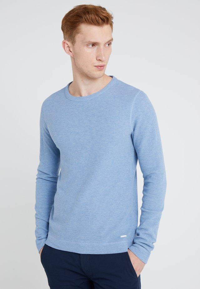TEMPEST - Strikpullover /Striktrøjer - light blue